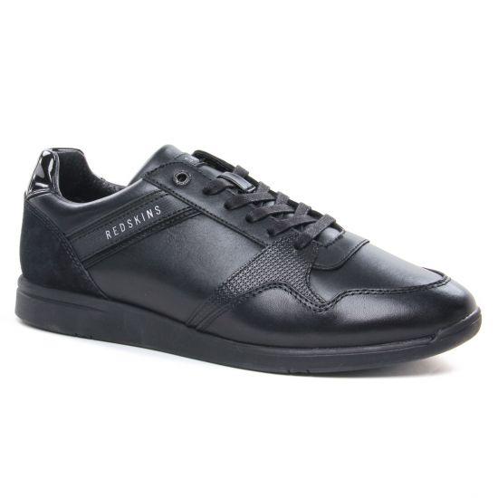 Chaussures Montantes Redskins Lierre Noir, vue principale de la chaussure homme
