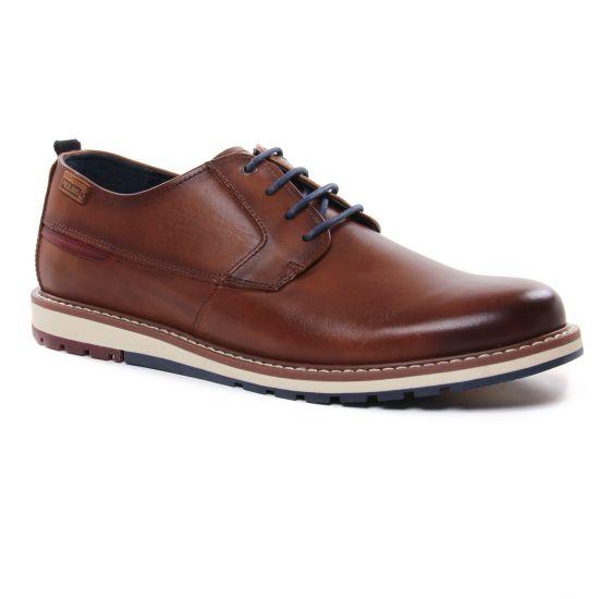 Chaussures Basses À Lacets Pikolinos Berna M8J-4314 Cuero, vue principale de la chaussure homme