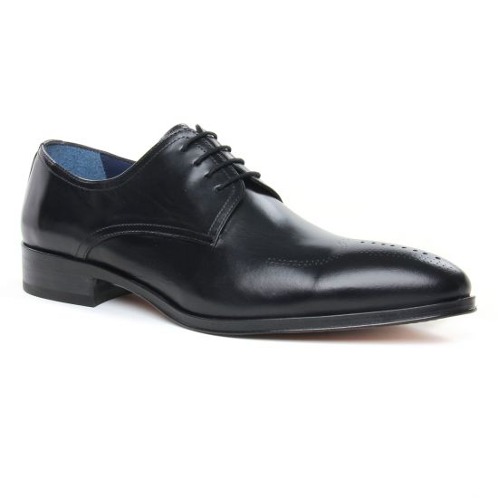 Chaussures Basses À Lacets Brett Sons 3875 Noir, vue principale de la chaussure homme