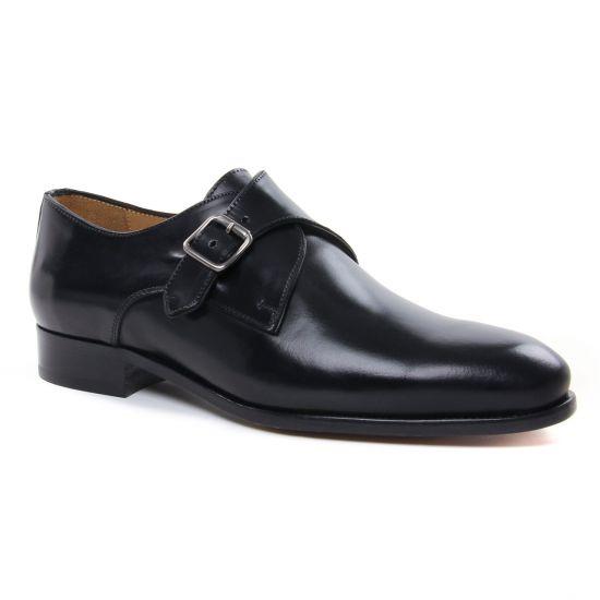 Chaussures Basses À Lacets Brett Sons 4215 Noir, vue principale de la chaussure homme