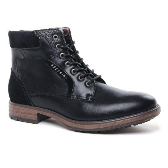 Chaussures Montantes Redskins Ortie Noir, vue principale de la chaussure homme