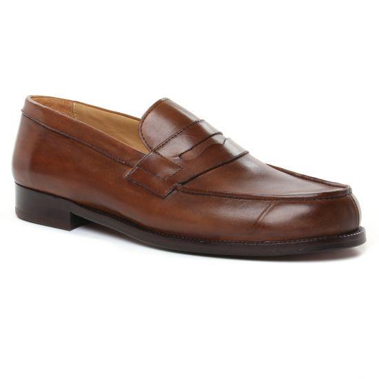Mocassins Et Bateaux Brett Sons James Cognac, vue principale de la chaussure homme