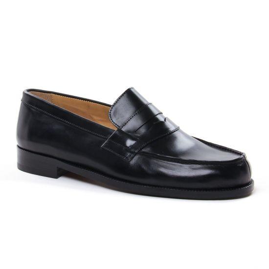 Mocassins Et Bateaux Brett Sons James Noir, vue principale de la chaussure homme