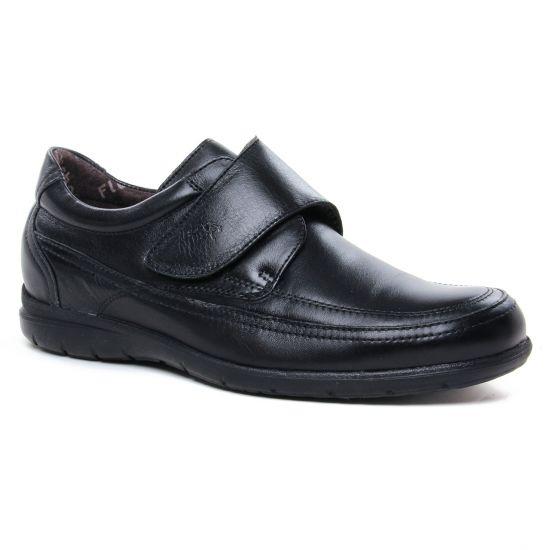 Mocassins Et Bateaux Fluchos 8782 Noir, vue principale de la chaussure homme