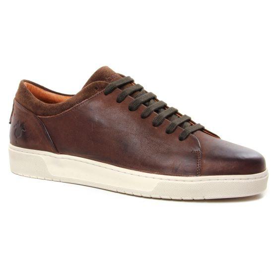 Tennis Kost Radical 78 Marron, vue principale de la chaussure homme