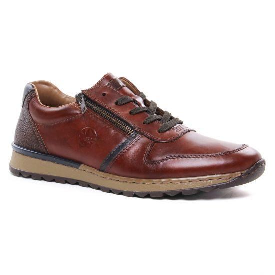 Tennis Rieker B2510-26 Nut, vue principale de la chaussure homme