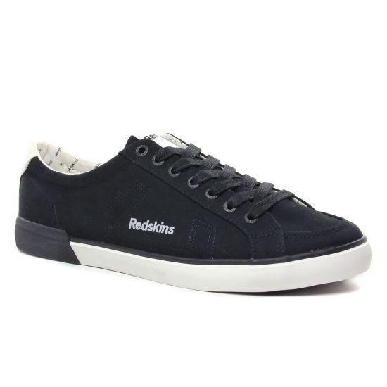 Tennis Redskins Sabari 2 Noir Blanc, vue principale de la chaussure homme