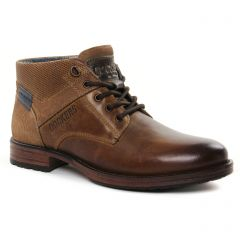 Chaussures homme hiver 2021 - bottines Chukka Dockers marron