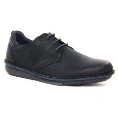Chaussures homme hiver 2021 - chaussures basses à lacets Fluchos noir