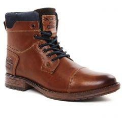 Chaussures homme hiver 2021 - derbys Dockers marron