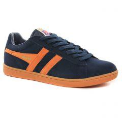 Chaussures homme hiver 2021 - tennis Gola bleu orange