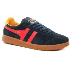 Chaussures homme hiver 2021 - tennis Gola bleu rouge