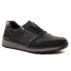 Chaussures homme hiver 2021 - tennis rieker noir