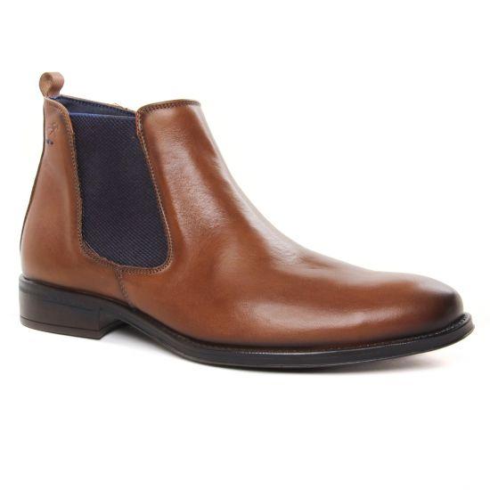 Chaussures Montantes Fluchos 8756 Camel, vue principale de la chaussure homme