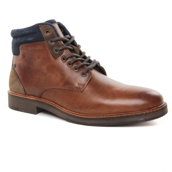 Chaussures Montantes Redskins Jabor Brandy Marine, vue principale de la chaussure homme