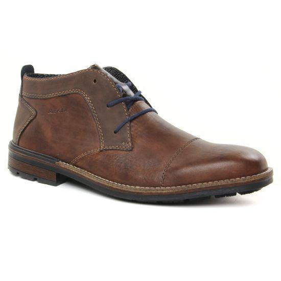 Chaussures Montantes Rieker B1320-25 Marron Pacifik, vue principale de la chaussure homme