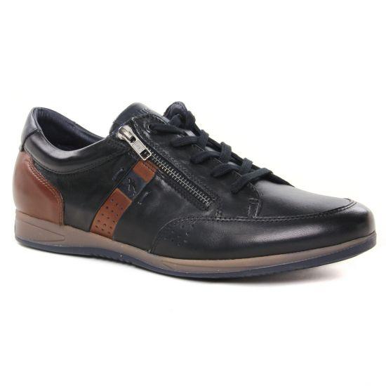 Tennis Fluchos F1281 Noir, vue principale de la chaussure homme