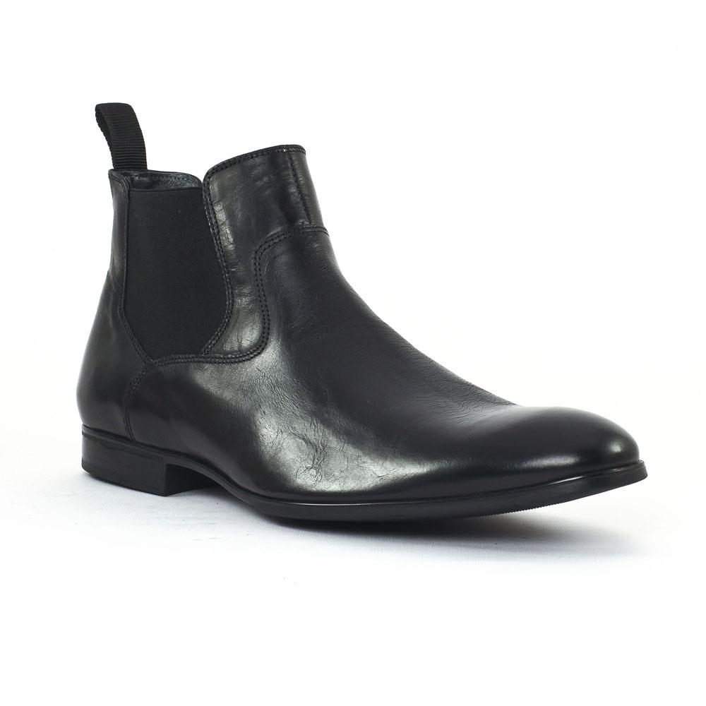 christian pellet nuptial cuir noir boots noir mode chez. Black Bedroom Furniture Sets. Home Design Ideas