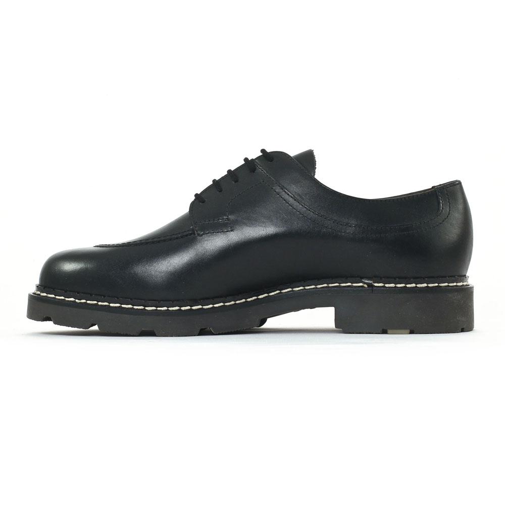 Christian Pellet Montario Noir   chaussure basse à lacets