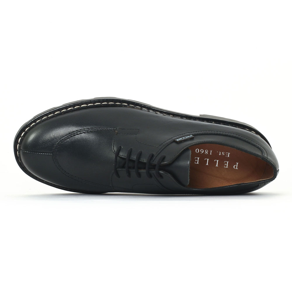 christian pellet montario noir chaussure basse lacets. Black Bedroom Furniture Sets. Home Design Ideas