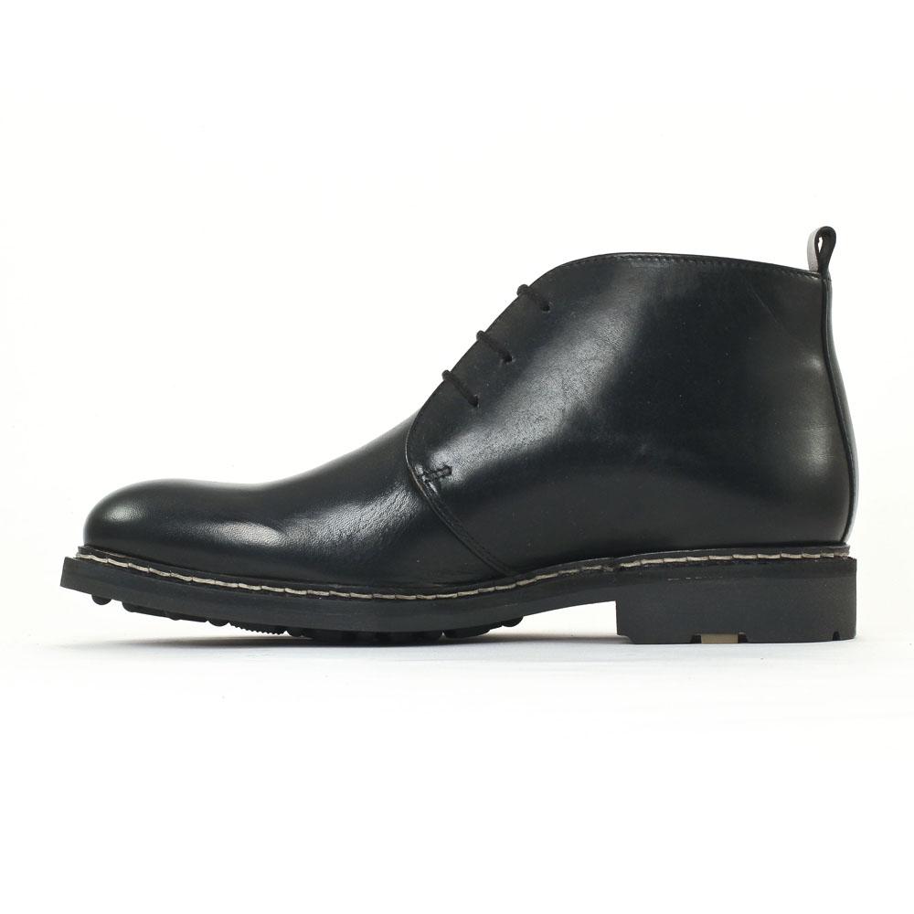 5ebdb01453e chaussures montantes noir mode homme mode vue 3