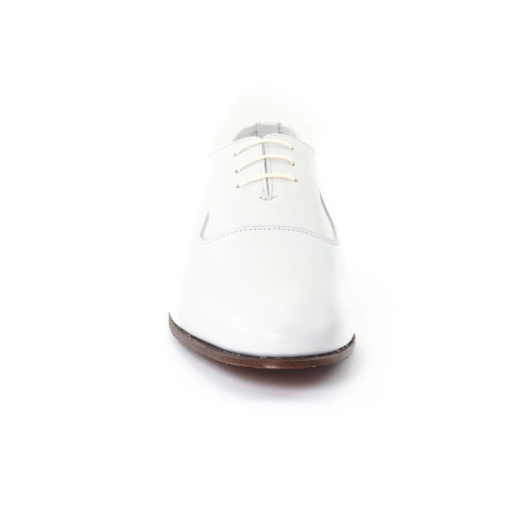 10355 blanc TROIS Blanc PAR Baxton mode richelieu 3 chez UPWaxWnqT