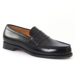 Chaussures homme hiver 20 - mocassins Boston noir