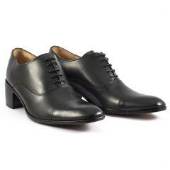 Chaussures homme hiver 20 - derbys à talon Simon Fournier noir