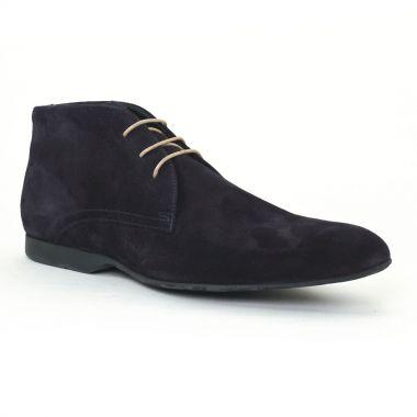 Chaussures Montantes Christian Pellet Darwin Navy, vue principale de la chaussure homme