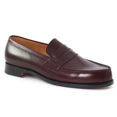 Mocassins Et Bateaux Boston G4592 bordeaux, vue principale de la chaussure homme