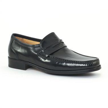 Mocassins Et Bateaux Christian Pellet Napoleon Nappa Noir, vue principale de la chaussure homme