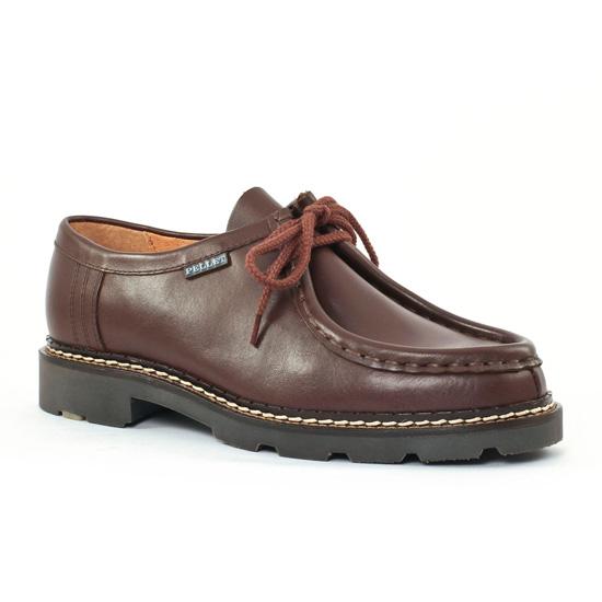 Chaussures Basses À Lacets Christian Pellet Macho Negro, vue principale de la chaussure homme