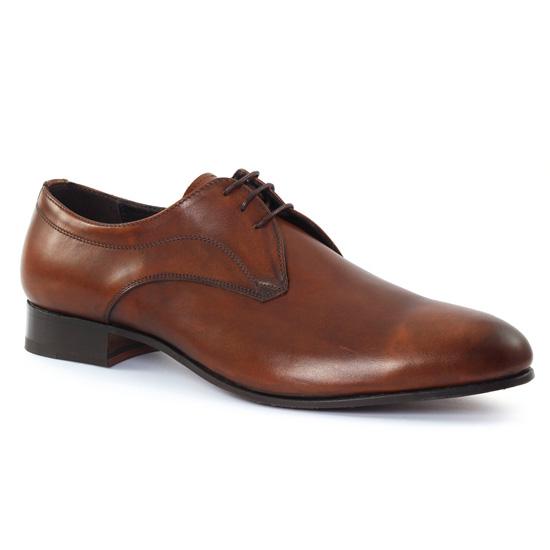 Chaussures Basses À Lacets Baxton 10538 Brown, vue principale de la chaussure homme
