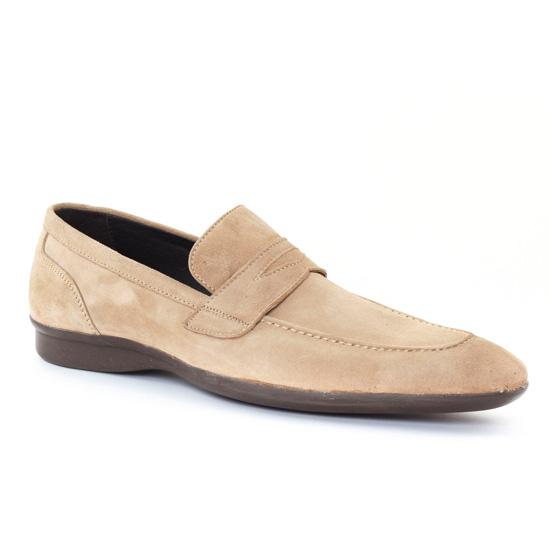 Mocassins Et Bateaux Baxton 10353 Royal beige, vue principale de la chaussure homme