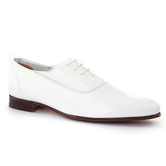 Chaussures Basses À Lacets Baxton 10355 Blanc, vue principale de la chaussure homme
