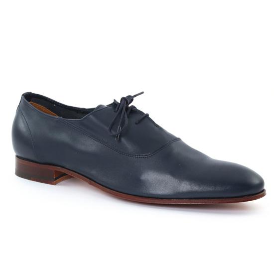 Chaussures Basses À Lacets Baxton 10355 Marine, vue principale de la chaussure homme