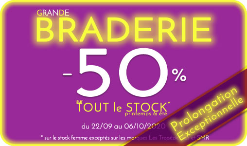 Braderie chaussures