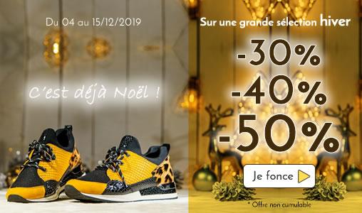 chaussures en promotion femme