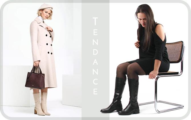 bottes nouvelle collection automne hiver 2020