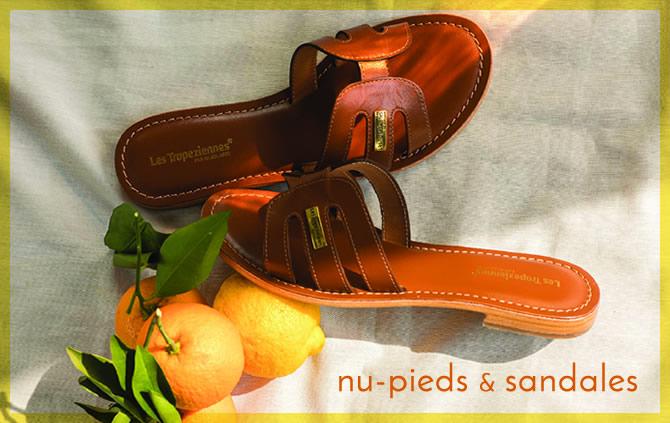 sandales et nu-pieds femme nouvelle collection 2020