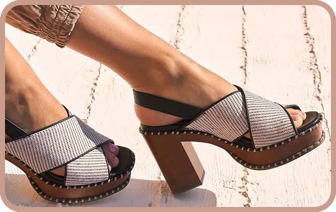 sandales à talon haut en nouvelle collection 2020
